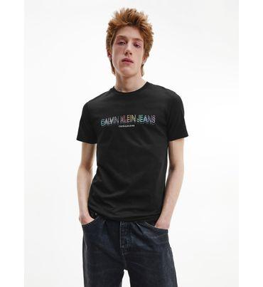 Playera-slim-de-algodon-organico-con-logo---Pride-Calvin-Klein