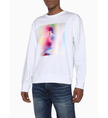 Sudadera-de-algodon-organico-con-estampado---Pride-Calvin-Klein