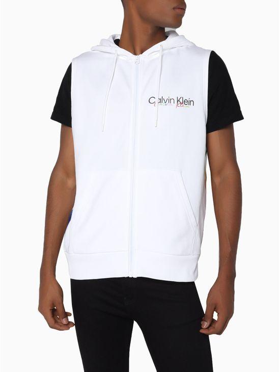 Sudadera-de-algodon-organico-sin-mangas---Pride-Calvin-Klein