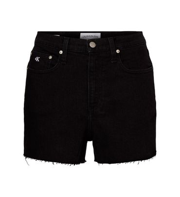 Shorts-high-rise-de-mezclilla-Calvin-Klein
