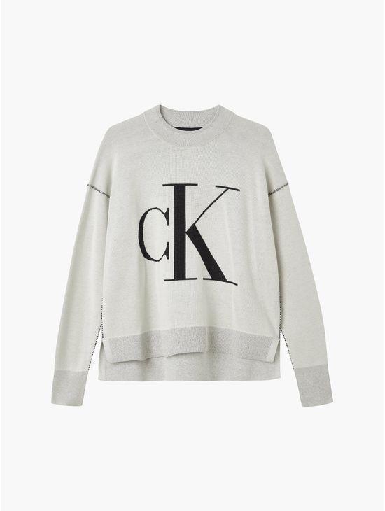 Sueter-con-monograma--Calvin-Klein