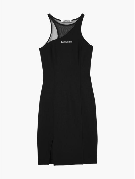 Vestido-bodycon-de-punto-milano-Calvin-Klein