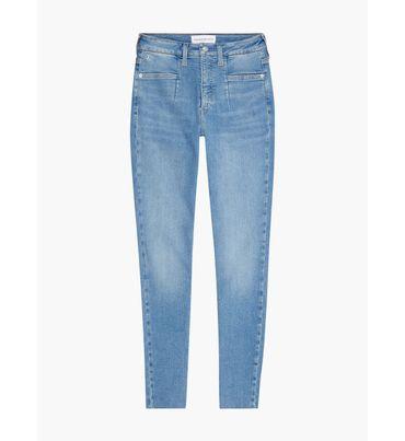 Jeans-skinny-de-talle-medio-Calvin-Klein