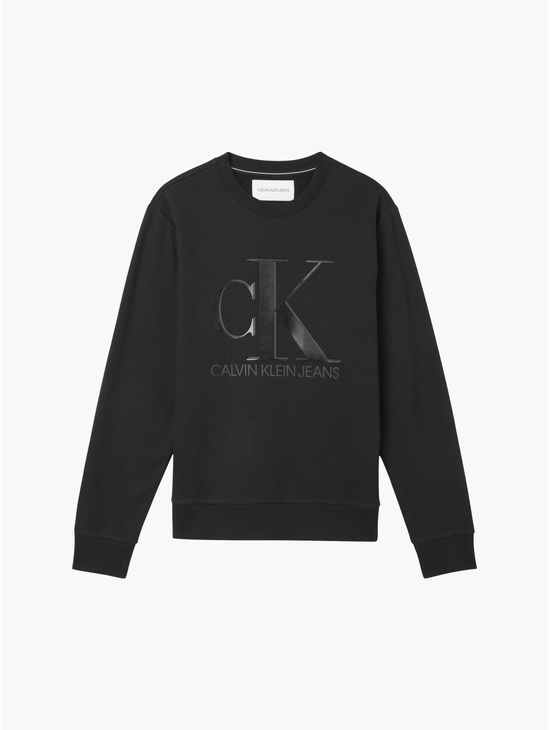 Sudadera-de-algodon-organico-con-logo--Calvin-Klein