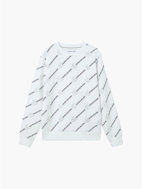 Sudadera-de-algodon-organico-con-logo-en-toda-la-prenda-Calvin-Klein