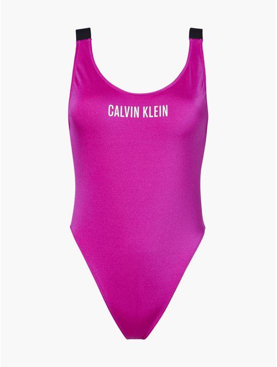 Traje-de-baño-de-cuello-redondo---Intense-power-Calvin-Klein