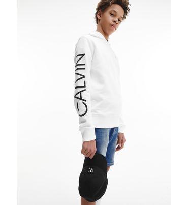 Gorra-de-sarga-de-algodon-para-niño-Calvin-Klein