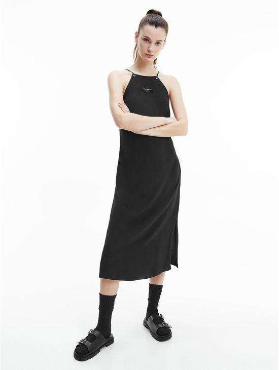 Vestido-midi-con-lazos-en-la-espalda-Calvin-Klein