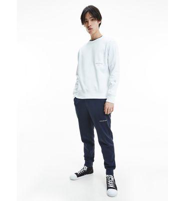 Pants-de-algodon-organico-con-logo-Calvin-Klein