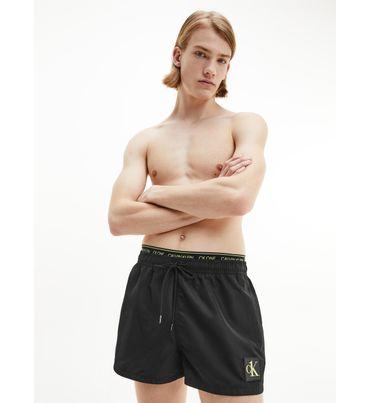 Traje-de-baño-corto-de-doble-cintura---CK-one-Calvin-Klein