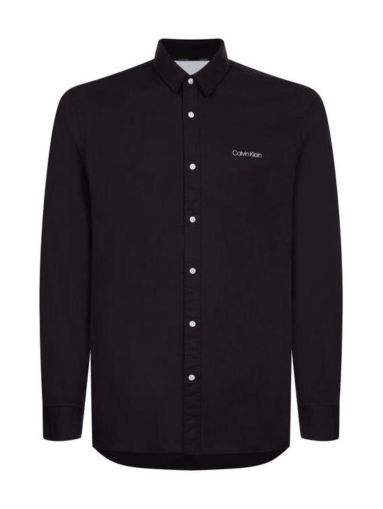 Camisa-slim-de-algodon-con-logo