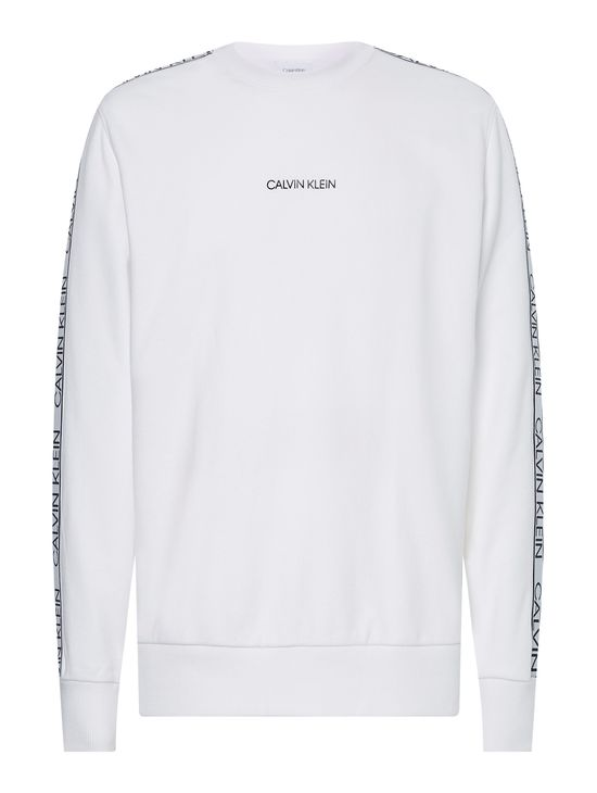 Sudadera-de-algodon-organico-con-logotipo-en-mangas-y-pecho-Calvin-Klein
