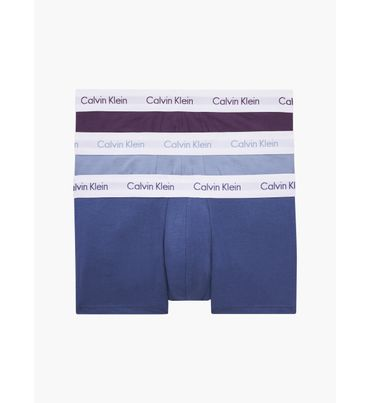 Pack-de-3-Boxers-de-Tiro-Bajo---Cotton-Stretch-Calvin-Klein