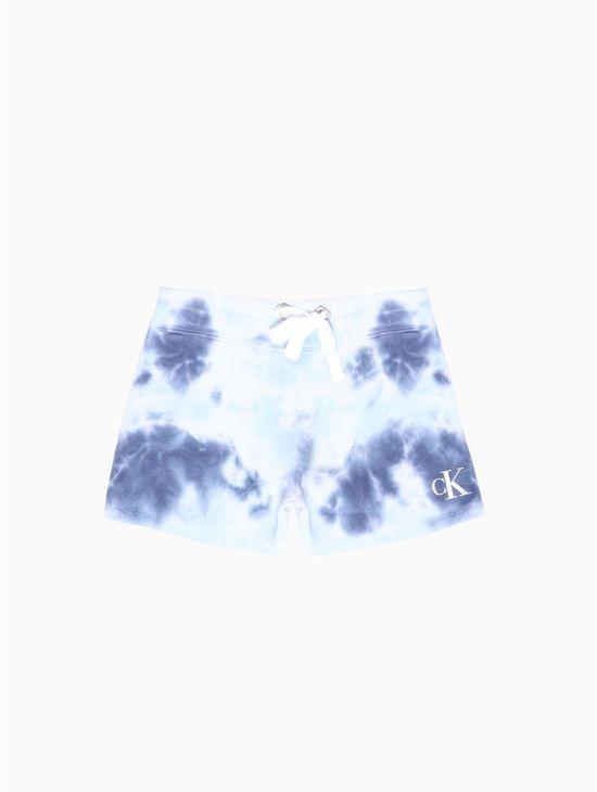 Tie--dye-short-con-logo-Calvin-Klein
