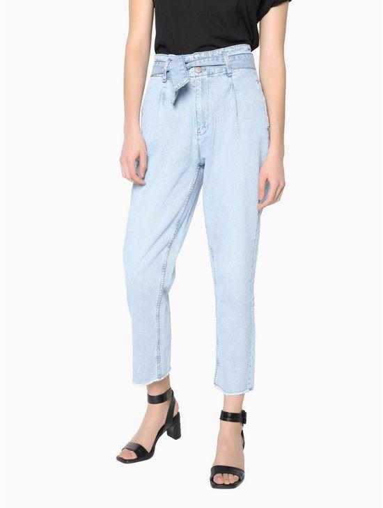Paper-bag-jeans-Calvin-Klein