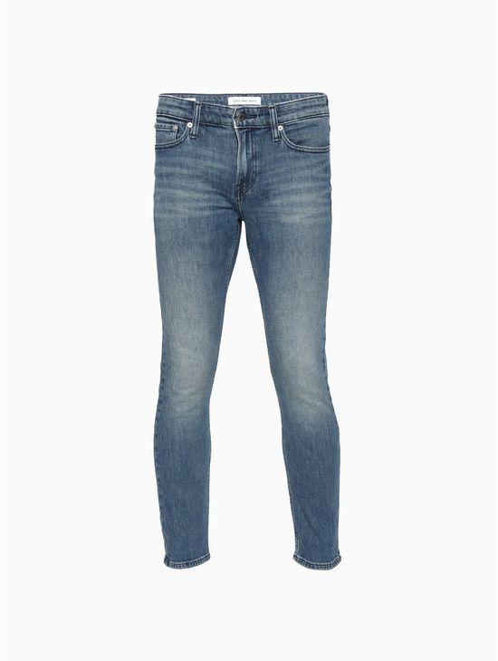 Jeans-slim-chipped-blue-Calvin-Klein
