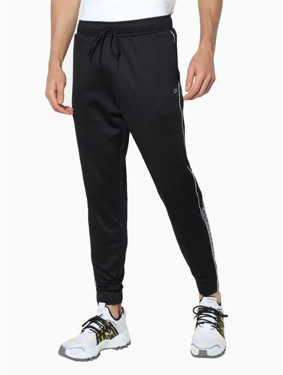 Pantalon-deportivo-de-felpa-con-cinta-con-el-logo-Calvin-Klein